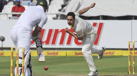 Mitchell Johnson combined pace and aggression to raise his series tally to 19 wickets in five innings (AP)