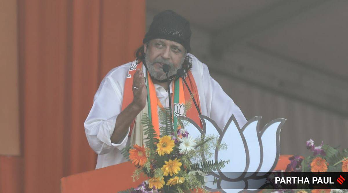 Actor Mithun Chakraborty joins BJP, vows to fight for rights of everyone in Bengal