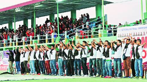 Mizoram's love for football goes a long way back.