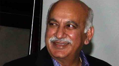Journalist M J Akbar. (Express Archive)