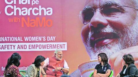 "Narendra Modi advocated the need for social awareness to get rid of the ""discrimination"" between boy and girl child."