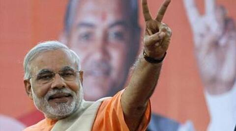 Narendra Modi would enjoy diplomatic immunity if he becomes the prime minister, a Congressional report said.