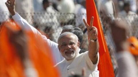 Narendra Modi was in Bihar and Jharkhand on Thursday