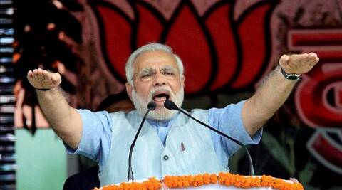 Narendra Modi assured Yadav voters good prices for their milk. (PTI)