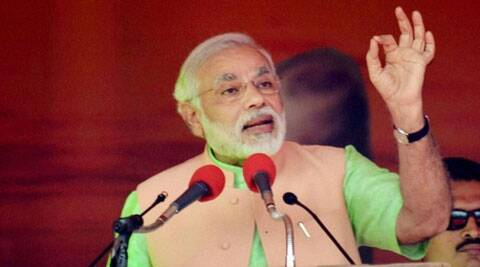 Narendra Modi has emerged as the most searched chief minister on search giant Google.