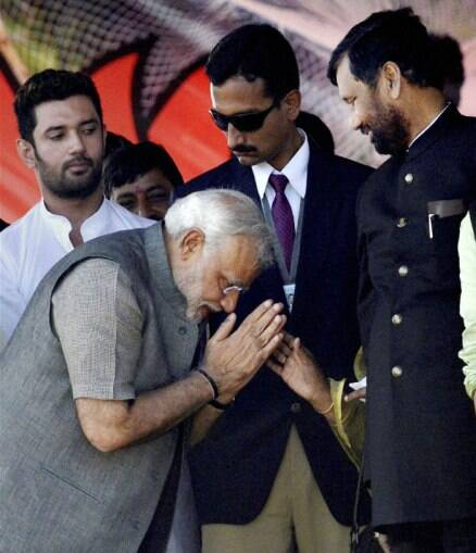 Narendra Modi's 'Hunkar' rally in Bihar