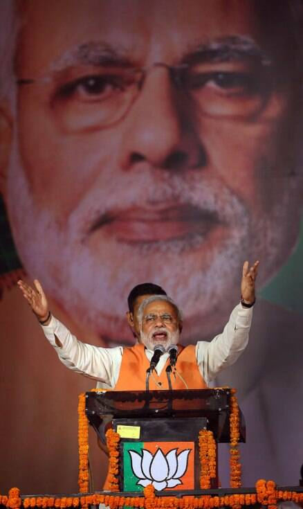 Narendra Modi's marathon rallies, visit to Vaishno Devi shrine
