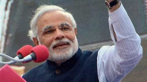 Modi said top political leadership is the need of the hour. (PTI)