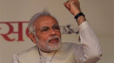 Narendra Modi is fighting the Lok Sabha elections from Varanasi. (PTI)