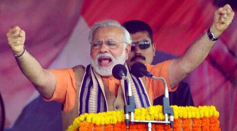 Modi slams Khurshid, says he has lowered country's image. (PTI)