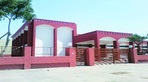 The newly renovated community centre in Sector 71, Mohali. (Gagandeep Singh dhillon)
