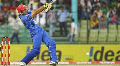 Team Afghanistan is filled with batsmen who hope to bat like their hero, MS Dhoni (AP)