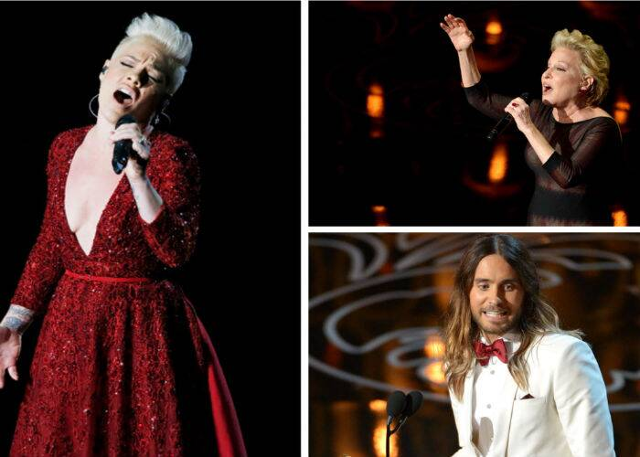 Hosted by talk-show host Ellen DeGeneres, the 86th Academy Awards sure had it's funny moments, while there were also moments that were touching. Here's a look at some of the best memories from the night.