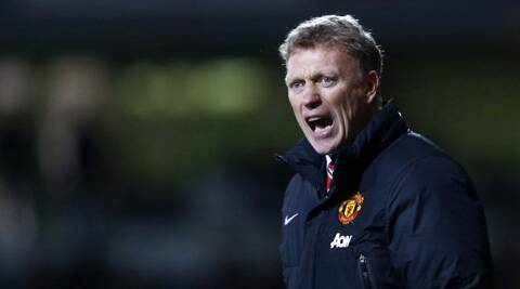 "United manager David Moyes was pleased with his team's ""terrific"" performance in a 1-1 draw at home to Bayern Munich in the quarter-final first leg. (Reuters)"
