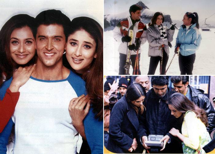 Rani began 2002 with Yash Raj Films' 'Mujhse Dosti Karoge!' along with Hrithik Roshan and Kareena Kapoor. Though the film was heavily promoted it failed to do well in India but had a decent run overseas.
