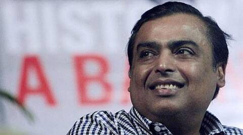 Richest Indian business tycoon Ambani plans to invest USD 25 billion in his businesses over the next two  years.  (Photo, AP)