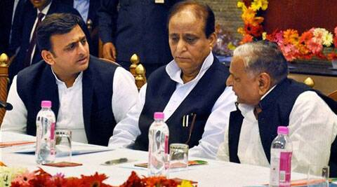 SP chief Mulayam Singh Yadav and his daughter-in-law Dimple are contesting from Mainpuri and Kannauj, respectively. (PTI)