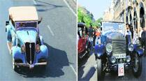 With class & style, vintage beauties set Mumbai roads onfire