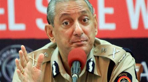 Mumbai Police Commissioner Rakesh Maria speaks during the launch of a travel safe campaign for ladies on the occasion of Women's Day in Mumbai on Saturday. (PTI Photo)