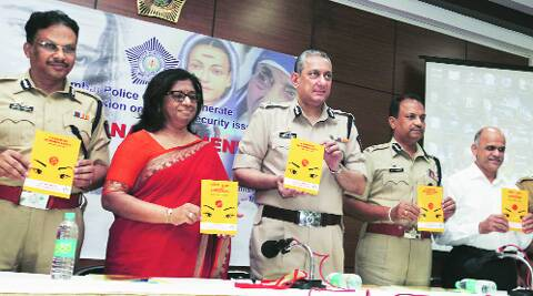 Mumbai police chief Rakesh Maria at the launch of a handbook on women safety at   Police Club on Saturday. Dilip Kagda