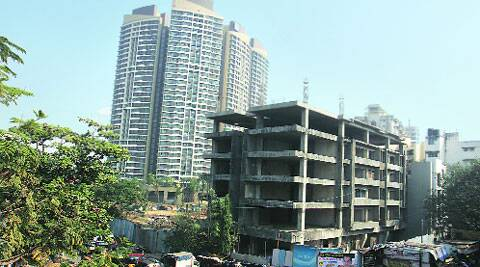 Redevelopment of buildings near defence land in Kandivali has been stuck due to lack of NOC from the defence ministry. DIlip Kagda