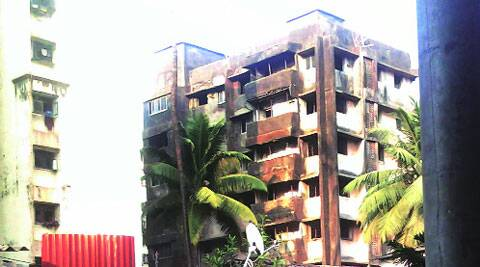 Shankarlok building before the collapse
