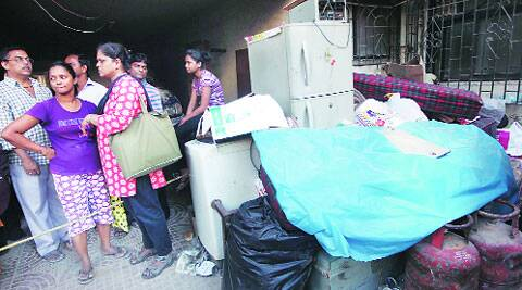 The chawl residents are yet to receive an alternate accommodation