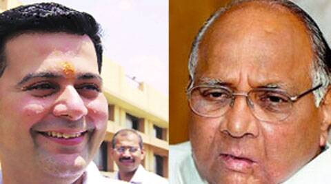 "Paranjape shared the stage with Pawar and launched a diatribe against the saffron party, saying it was not ""the Sena of yore""."