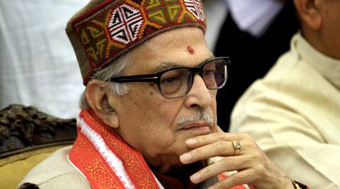 "The sitting MP from Varanasi, Murli Manohar Joshi said he would accept the party's decision ""like a disciplined soldier"". (Express Photo: Ravi Kanojia)"