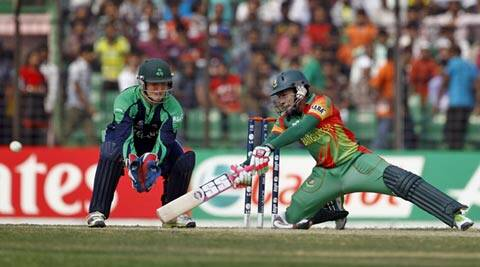 Bangladesh skipper Rahim scored 59 off 30 balls with eight fours and two sixes (AP)