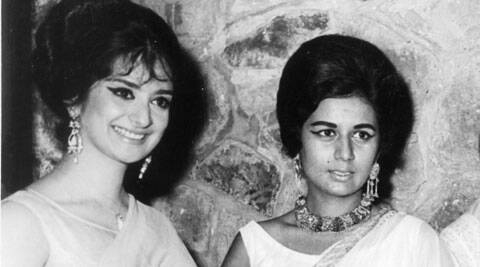 Saira Banu had not shared screen space with Nanda in any film.