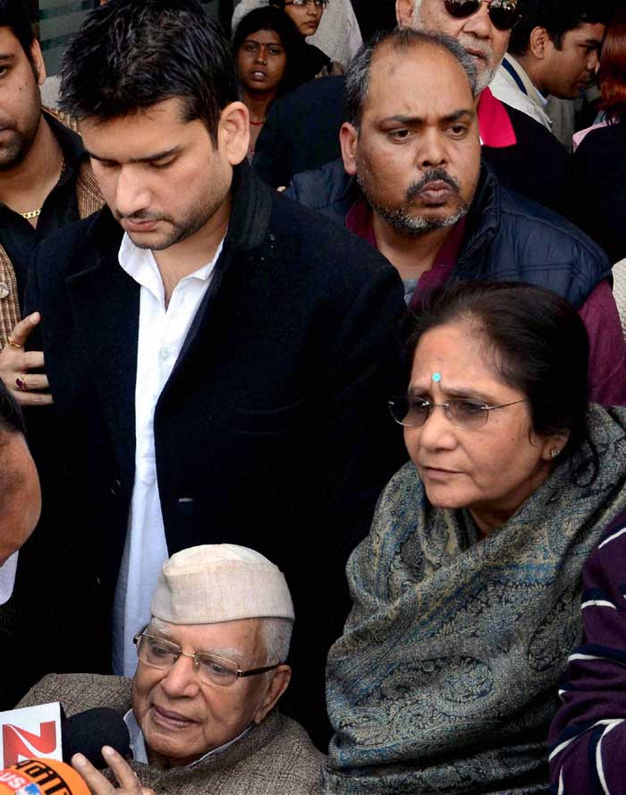 """I am happy that ND Tiwari has finally accepted the fact that I am his son. We would have anyway won the case on April 21,"" said Rohit. (PTI)"