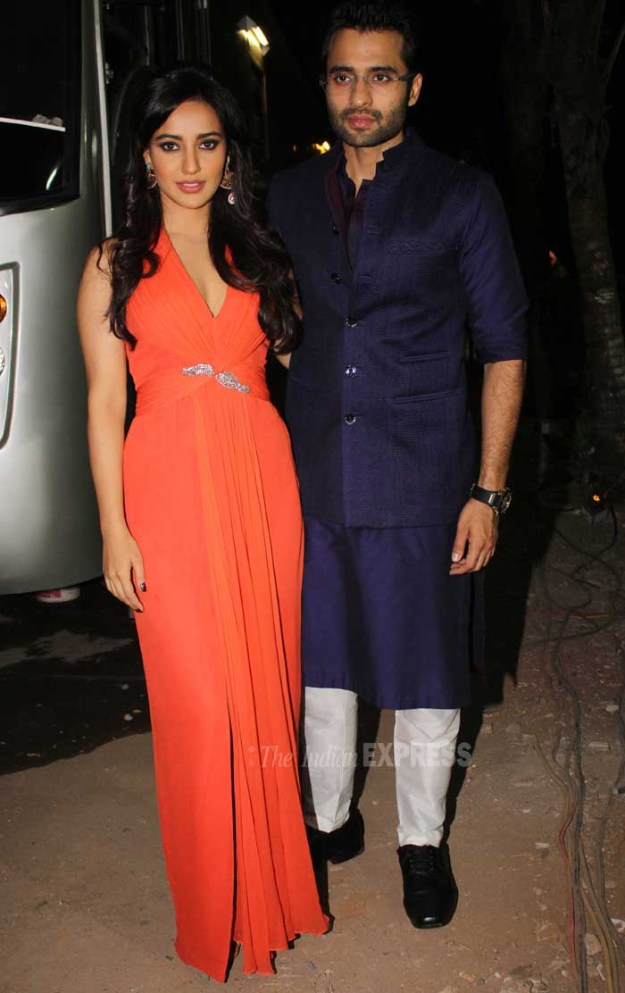 Meanwhile, Jackky Bhagnani and Neha Sharma promoted their film 'Youngistaan' on the sets of the TV show 'Comedy Circus'. (Photo: Varinder Chawla)