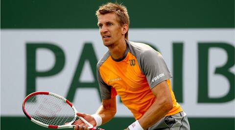 Jarkko Nieminen defeated Bernard Tomic in a record 28 minutes during their ATP tour clash on Thursday. (AFP)