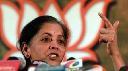 """Kejriwal is known for dumping things half-way,"" Nirmala said. (PTI)"