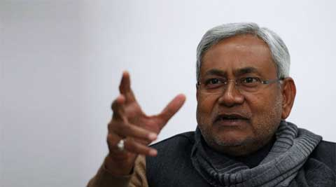 The projections have given wing to speculations that days of Nitish Kumar government in Bihar are numbered. (Reuters)