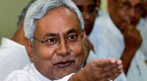 JDU's worker blocked traffic in support of their demand for grant of special status to Bihar. (PTI)
