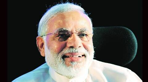 At Belgaum rally, Modi Keeps spotlight on himself, barely refers to Suresh Angadi.