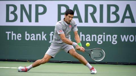 Novak Djokovic's next opponent is the big-serving Croatian Marin Cilic (AP)