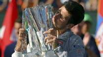 Novak Djokovic ends drought in thedesert