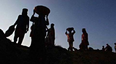 MGNREGA was introduced as a lifeline to the rural poor by guaranteeing a hundred days of work where no other employment opportunities exist. (PTI)