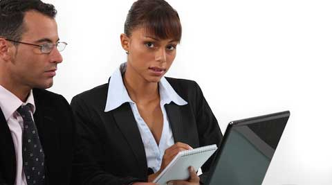 The struggle with retention of employees begins when women reach mid-managerial levels. (Reuters)