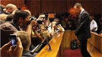 At his bail hearing last year, Pistorius justified shooting because of the extreme vulnerability he felt because of his disability.