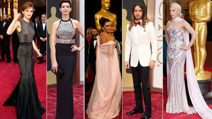We saw some really breathtaking gowns at the 86th Academy Awards Red Carpet, however, there did seem to be a few misses on the Oscars 2014 red carpet. Here's our pick of the Worst Dressed actresses and we have two surprises for you as well.  (AP)