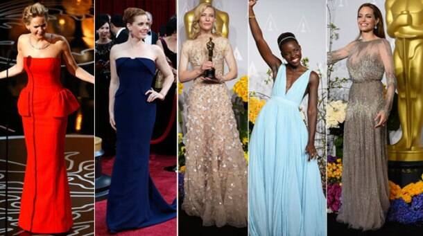 Best dressed at Oscars 2014: Angelina Jolie, Naomi Watts, Lupita