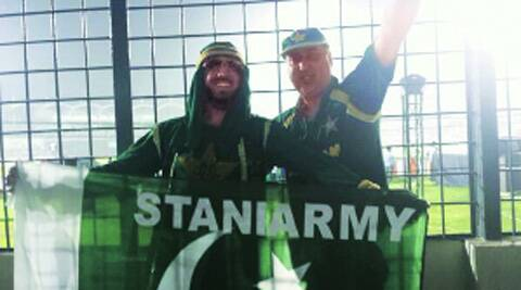 Pakistani fans during a game at the World T20