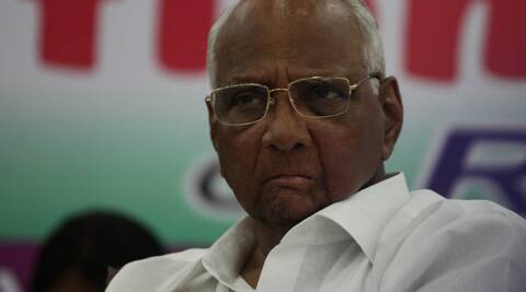 NCP chief Pawar took a dig at Modi over his recent gaffes.(Express Archive)