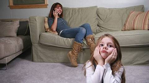 Researchers found that in the study when parents spent a long time looking at their phones, their children noticed and tried to seek attention.