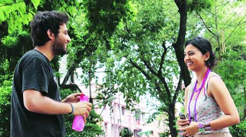 Samadarshi and Radhika Apte in Pendulum