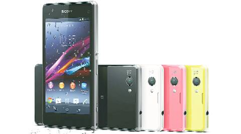 Xperia Z1 Compact is smaller than your typical Android phone, but it performs just as well.